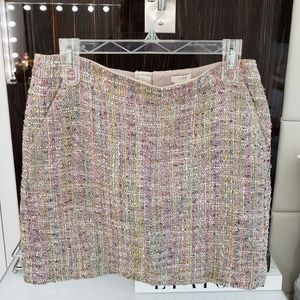 J. Crew Tweed Skirt Size 8